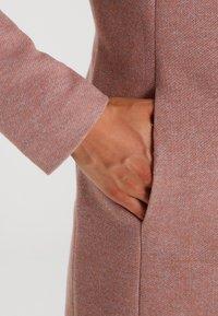 ONLY - Wollmantel/klassischer Mantel - mocha mousse melange - 4