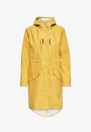 Waterproof jacket - yolk yellow