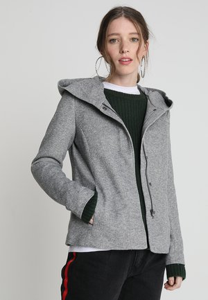 ONLSEDONA SHORT JACKET - Summer jacket - light grey melange