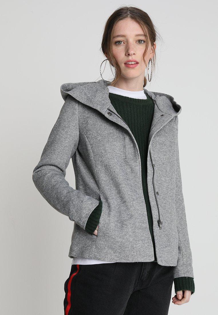 ONLY - ONLSEDONA SHORT JACKET - Korte jassen - light grey melange