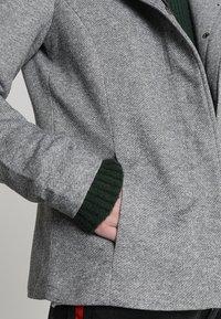 ONLY - ONLSEDONA SHORT JACKET - Korte jassen - light grey melange - 5
