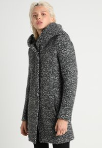 ONLY - ONLSEDONA COAT - Kurzmantel - dark grey melange - 0