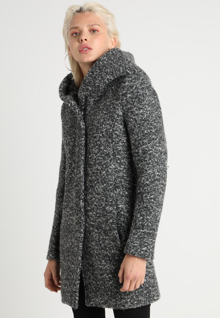 ONLY - ONLSEDONA  - Cappotto corto - dark grey melange