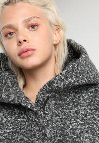 ONLY - ONLSEDONA COAT - Kurzmantel - dark grey melange - 4
