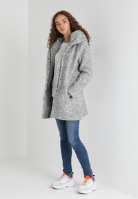 ONLY - ONLSEDONA  - Short coat - light grey melange - 1