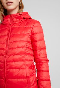 ONLY - ONLTAHOE HOOD  - Light jacket - chinese red - 5