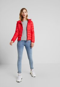 ONLY - ONLTAHOE HOOD  - Light jacket - chinese red - 1