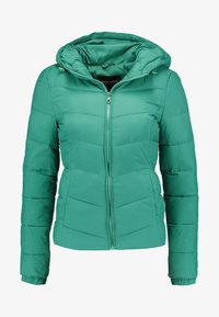 ONLY - ONYNORTH QUILTED PANEL HOOD - Giacca da mezza stagione - cadmium green - 3