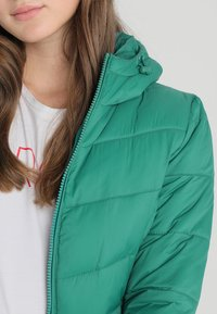 ONLY - ONYNORTH QUILTED PANEL HOOD - Giacca da mezza stagione - cadmium green - 4