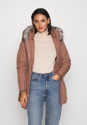 ONLKATY COAT - Winter coat - burlwood