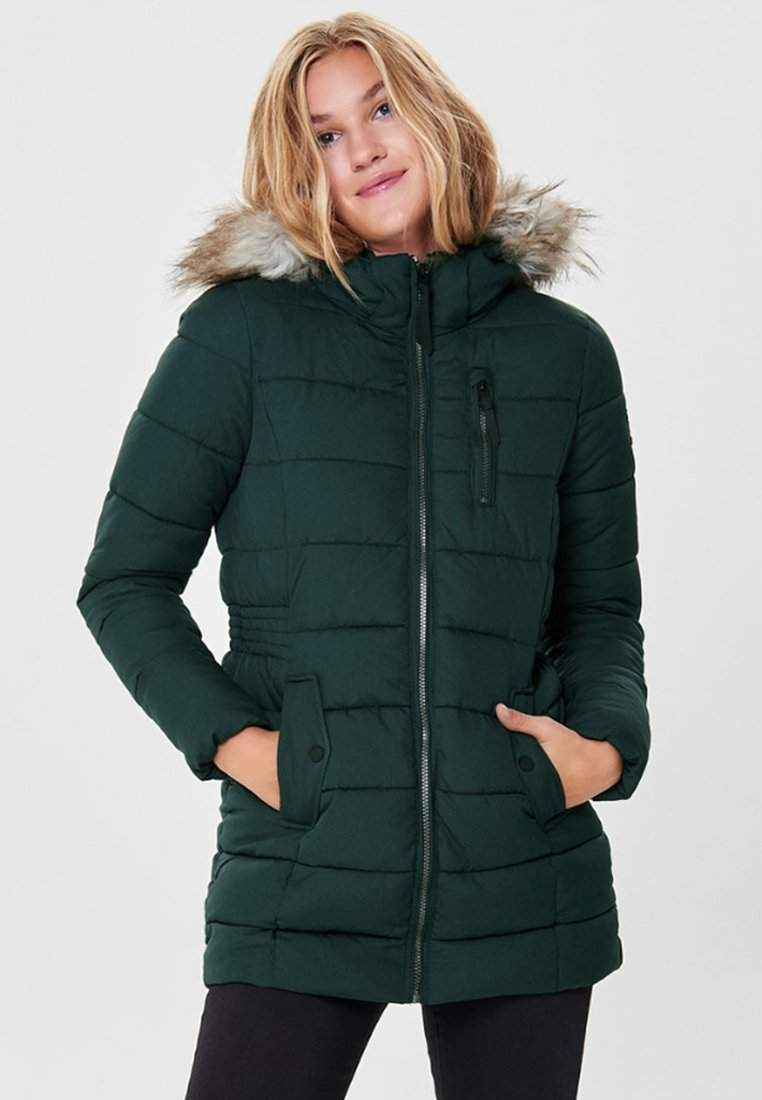 ONLY - ONLNORTH COAT  - Vinterfrakker - green