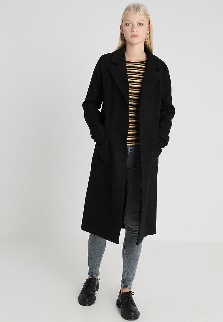 ONLY - ONLVALERIE LONG COAT - Wollmantel/klassischer Mantel - black