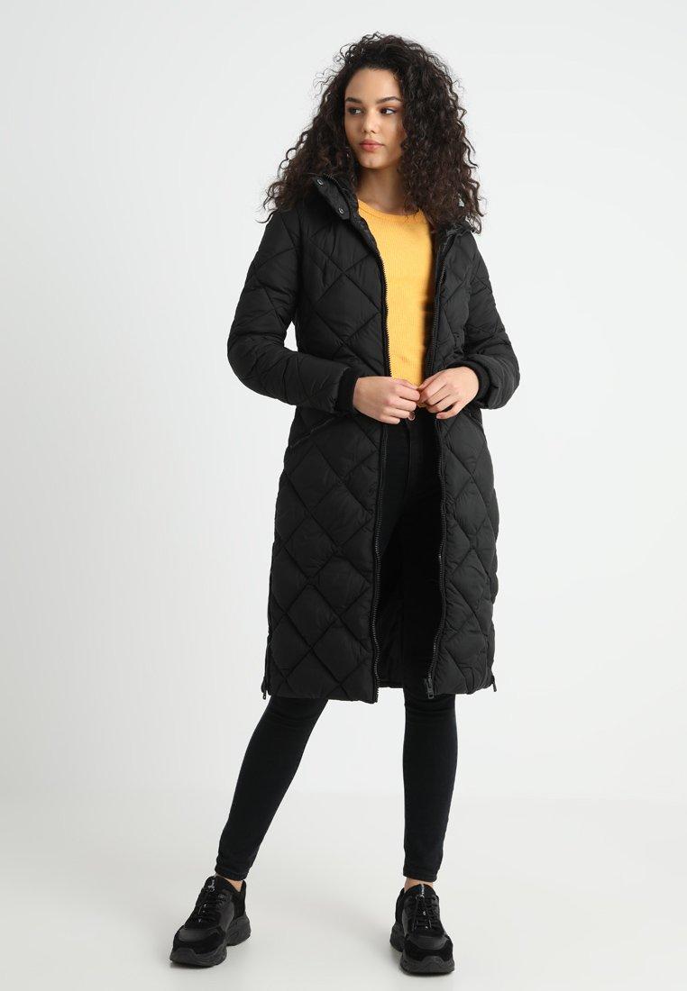 ONLY - ONLNEW ADVENTURE LONG COAT - Winter coat - black