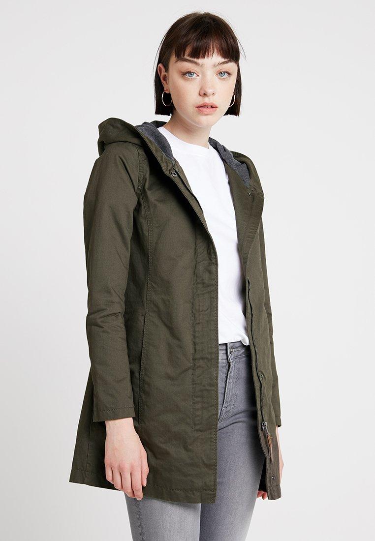 ONLY - Short coat - black olive