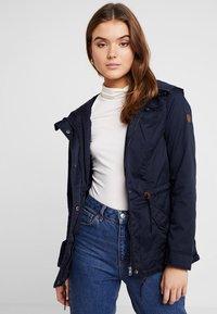 ONLY - ONLNEWLORCA SPRING - Summer jacket - blue graphite - 0