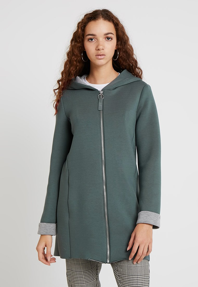 ONLY - ONLLENA BONDED COAT - Cappotto corto - balsam green