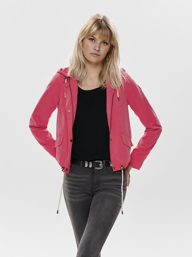ONLY - NEW SKYLAR SPRING - Training jacket - red
