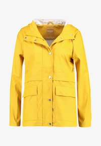 ONLY - ONLTRAIN RAINCOAT - Impermeabile - yolk yellow - 4