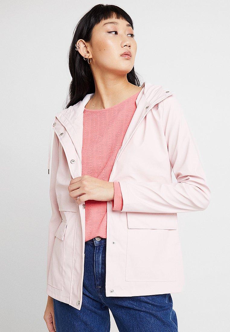 ONLY - ONLTRAIN RAINCOAT - Waterproof jacket - strawberry cream