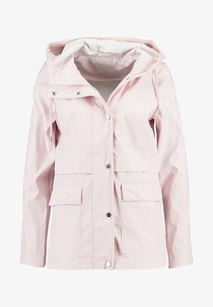 ONLTRAIN RAINCOAT - Waterproof jacket - strawberry cream