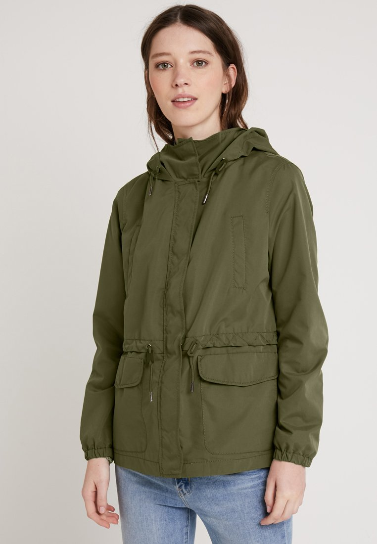 ONLY - ONLDETROIT JACKET - Parka - ivy green