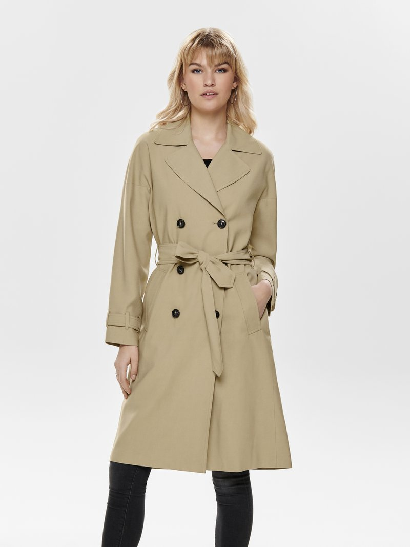 ONLY - Trenchcoat - brown
