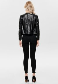 ONLY - Faux leather jacket - black - 2