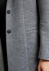 ONLY - LINDA - Kort kåpe / frakk - medium grey melange - 4