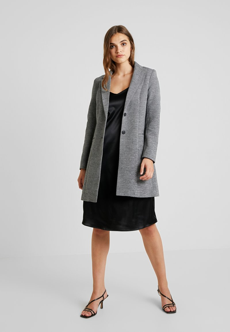 ONLY - LINDA - Kort kåpe / frakk - medium grey melange