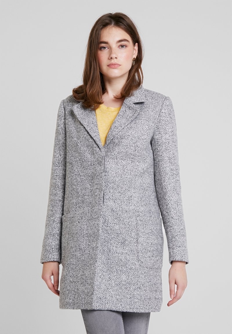 ONLY - ONLARYA COAT - Halflange jas - light grey melange