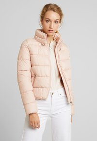 ONLY - ONLCAMMIE QUILTED JACKET - Lehká bunda - cameo rose - 0