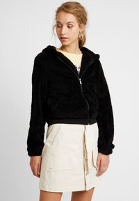 ONLY - ONLANNA CONTACT SHERPA - Winterjas - black - 0