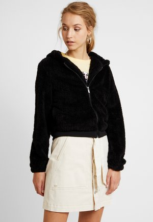 ONLANNA CONTACT SHERPA JACKET - Vinterjakke - black