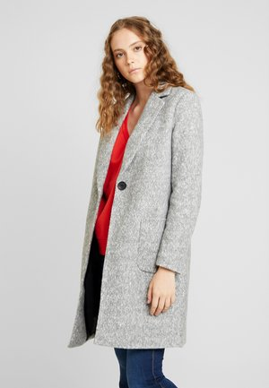 ONLASTRID MARIE COAT - Kort kappa / rock - medium grey melange