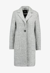 ONLY - ONLASTRID MARIE COAT - Kort kåpe / frakk - medium grey melange - 4