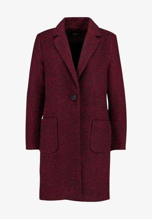 ONLASTRID MARIE COAT - Halflange jas - tawny port/melange