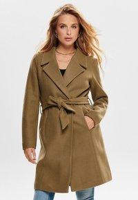 ONLY - ONLREGINA COAT - Zimní kabát - camel - 0