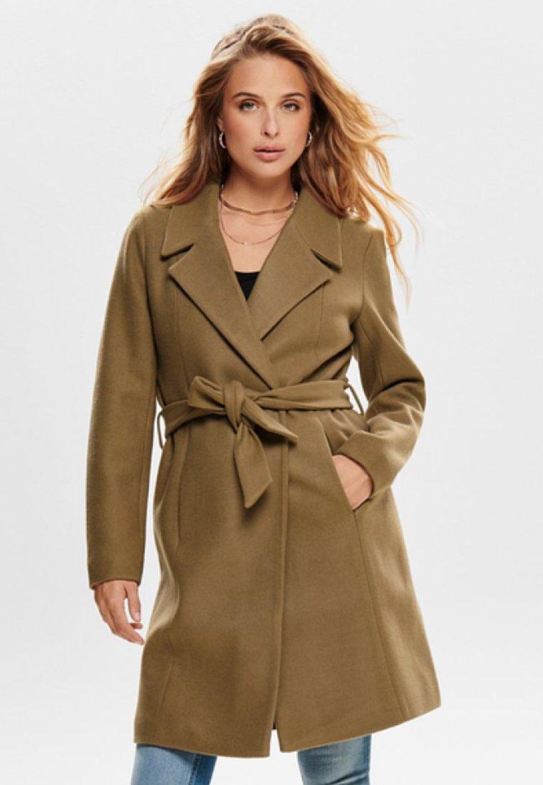 ONLY - ONLREGINA COAT - Zimní kabát - camel