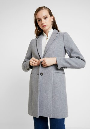 ONLCARMELITA - Short coat - light grey melange