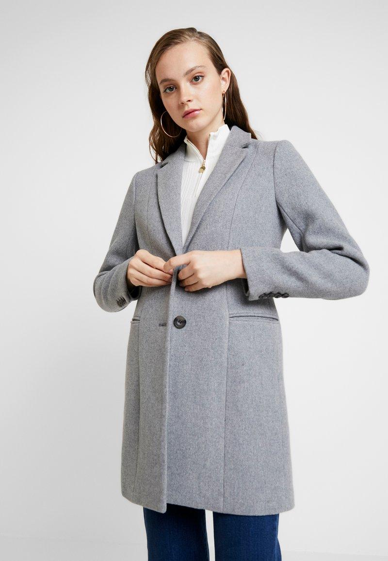 ONLY - ONLCARMELITA - Kurzmantel - light grey melange