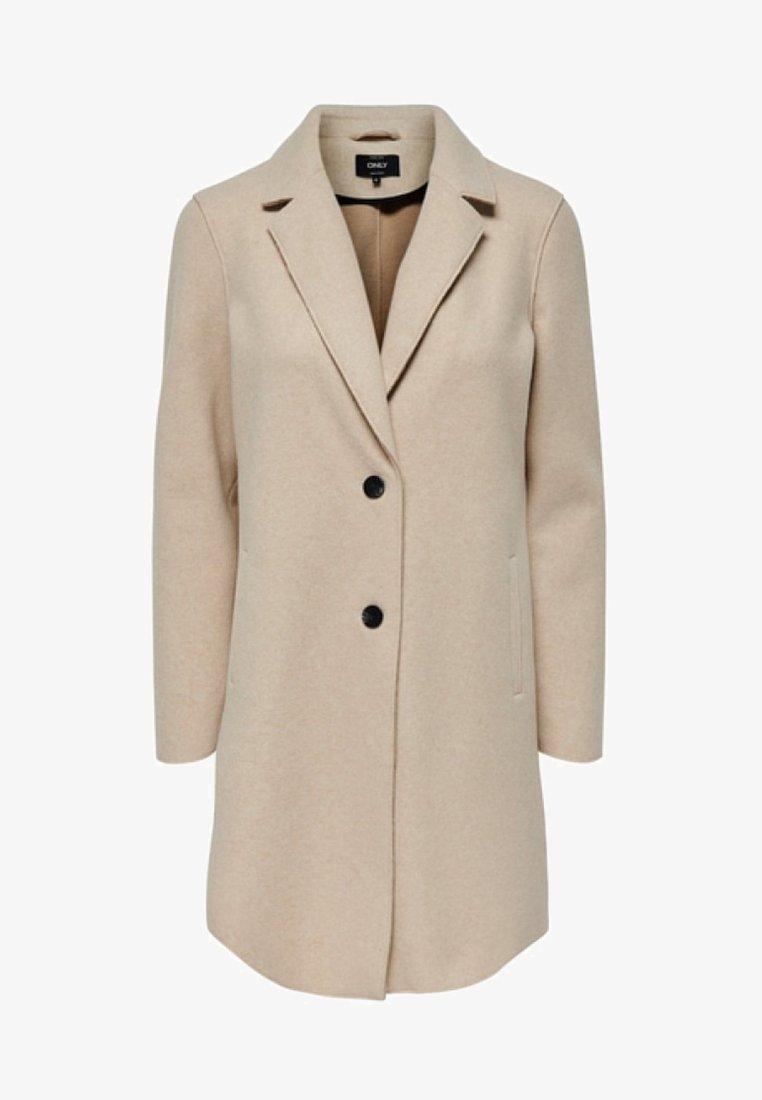 ONLY - ONLCARRIE BONDED  - Halflange jas - beige