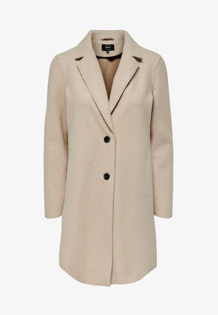 ONLY - ONLCARRIE BONDED  - Krátký kabát - beige