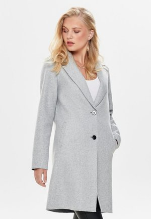 ONLCARRIE BONDED  - Cappotto corto - light grey melange