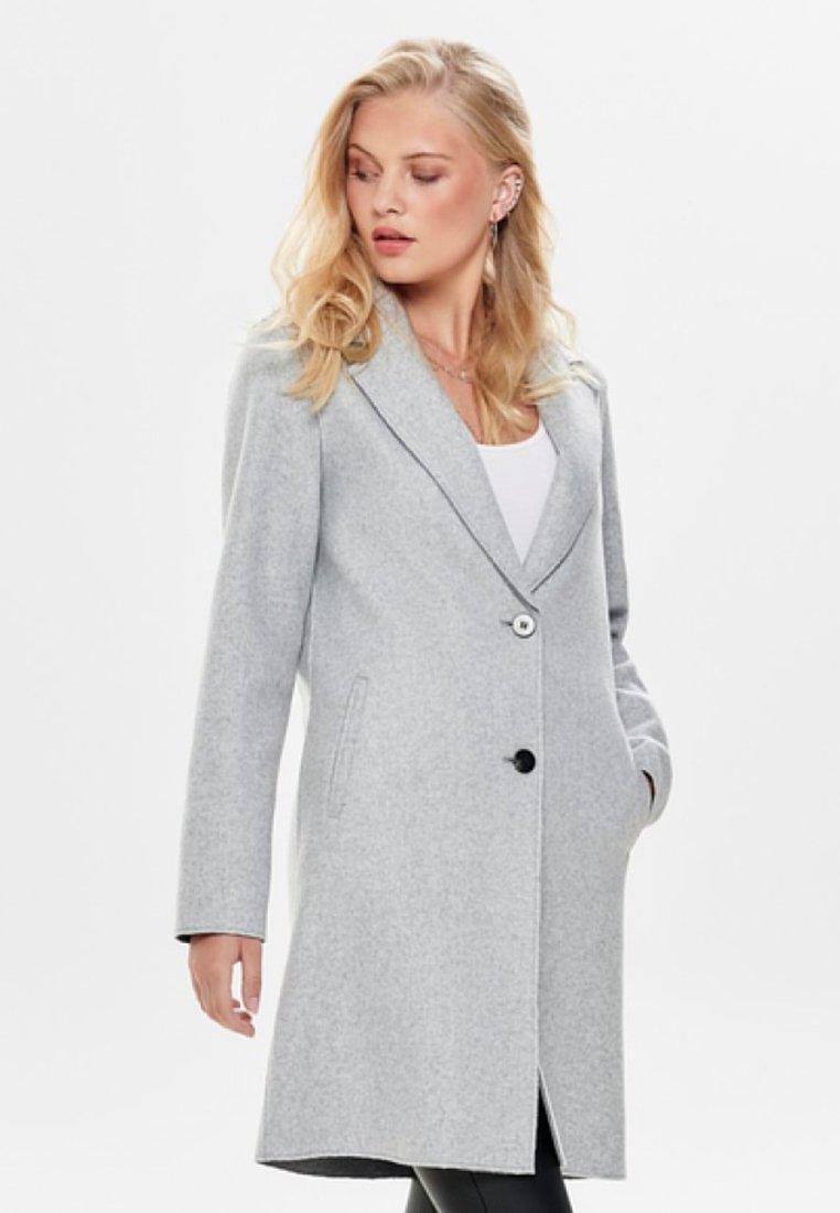 ONLY - ONLCARRIE BONDED  - Manteau court - light grey melange