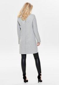 ONLY - ONLCARRIE BONDED  - Manteau court - light grey melange - 2