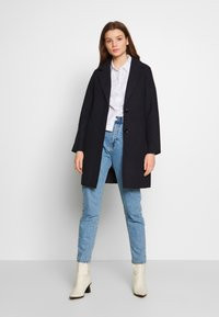 ONLY - ONLCARRIE BONDED  - Cappotto corto - night sky/melange - 1