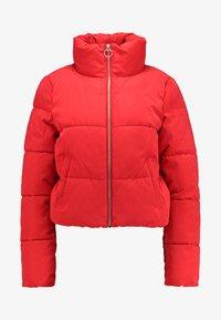 ONLY - ONLDINA SHORT QUILTED PUFFER - Zimní bunda - chinese red - 3