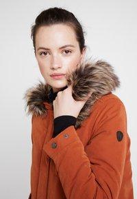 ONLY - ONLNEW SKYLAR - Zimní kabát - ginger bread - 4