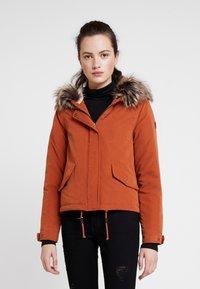 ONLY - ONLNEW SKYLAR - Zimní kabát - ginger bread - 0