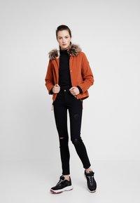ONLY - ONLNEW SKYLAR - Zimní kabát - ginger bread - 1
